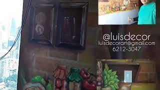 Pintura de Murales hermosos, @luisdecor