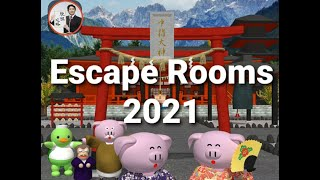 Escape Rooms 2021【Ryohei Narit…