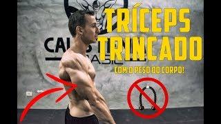 Exercícios BRUTAIS para Tríceps( SEM EQUIPAMENTO)