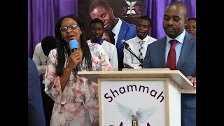 Pastor Nelson Chamisa before Preaching at a Local Church in Harare