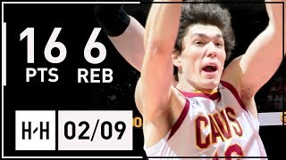 Cedi Osman Full Highlights Cavaliers vs Hawks (2018.02.09) - 16 Pts, 6 Reb, 5 Ast, 3 Steals