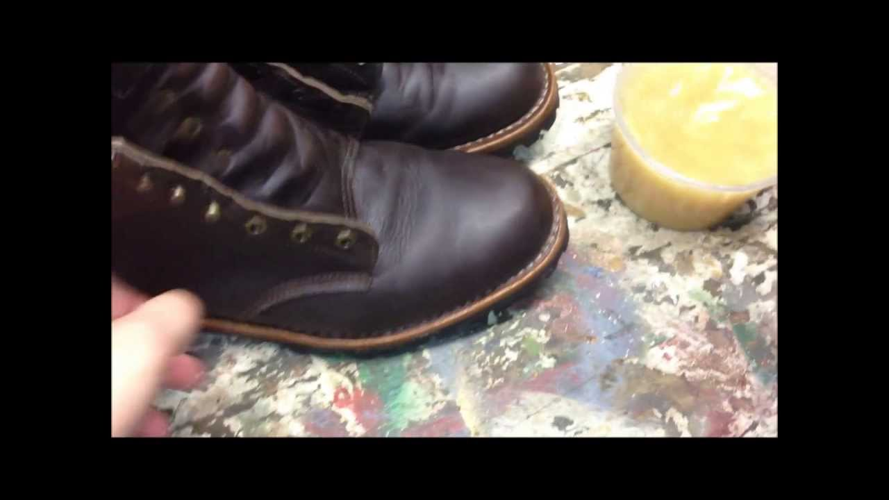 Taking Care Of Leather Boots Using