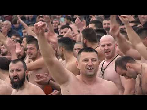 Богојављенско пливање за Часни Крст у Никшићу, 19.  01.  2020.  љ.  Г.