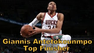 Video Giannis Antetokounmpo - Top Finisher - HD download MP3, 3GP, MP4, WEBM, AVI, FLV Juli 2018