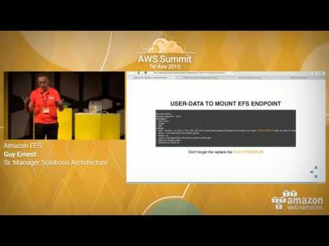 AWS Summit Series 2015   Tel Aviv: Amazon EFS Demo