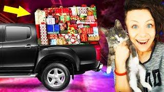 МАШИНА ПОДАРУНКІВ від передплатників КІШКА знайшла РАВЛИКА РОЗПАКУВАННЯ з кошеням і цуценям Magic Family