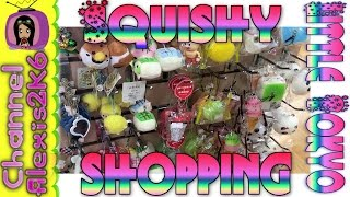 SQUISHY SHOPPING @  LITTLE TOKYO, LOS ANGELES!! | Gashapon Too!! |  (Ep. 55)