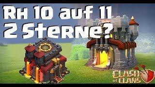 [309] Ist es noch aktuell möglich 2 Sterne Rh10 auf 11? Clanwar Power   Clash of Clans COC Deutsch