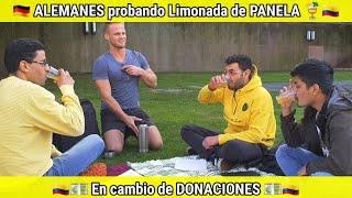 Preparé Limonada de Panela en Alemania y la vendí a los Alemanes para poder donar en Colombia