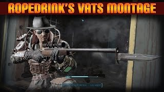 Fallout 4 Silly V.A.T.S Montage Rifle-Pistol Build