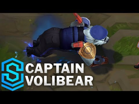 Captain Volibear (2020) Skin Spotlight - League of Legends