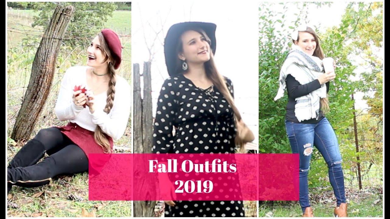 [VIDEO] - Fall Outfits |  Fall Fashion Lookbook 2019| Sabrina Davidson 1