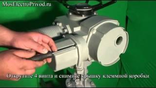 видео Затворы с электроприводом