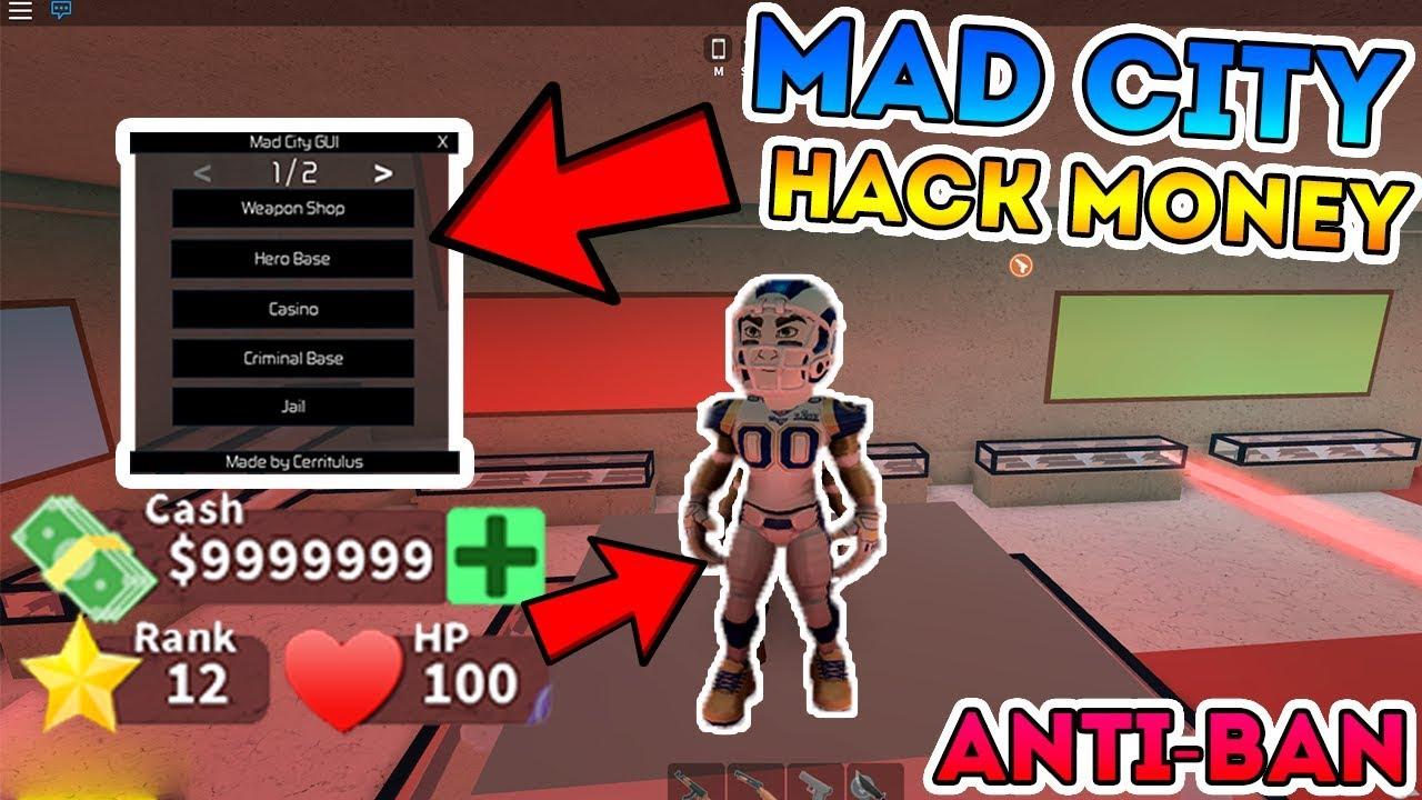 New Roblox Mad City Free Hack Infinite Money Gui Script Exploit