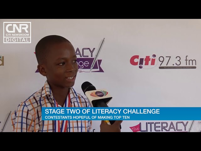 50 students write #TheLiteracyChallenge aptitude test