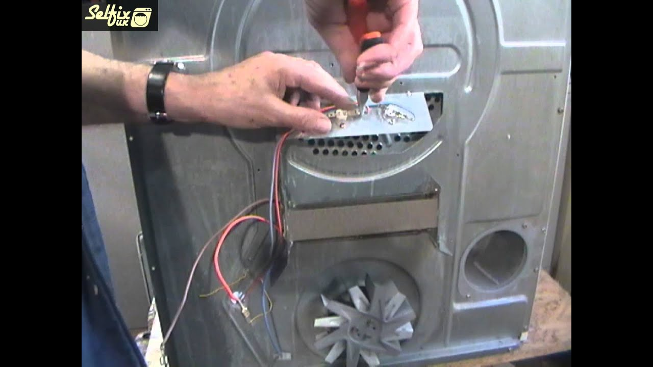 How To Replace A Creda Tumble Dryer Heater Youtube Wiring Clothes Circuit Breaker