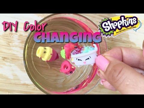 diy color changing Shopkins season five...