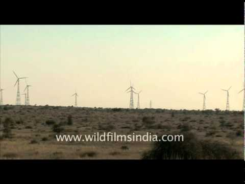 Windmills in Rajasthan