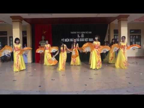Múa quạt - Giấc mơ trưa - Lương Thế Vinh - TP Thái Bình