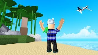 ROBLOX: I WAS TRAPPED IN THE MOST DESERTED ISLAND OF ALL!! -Play Old man