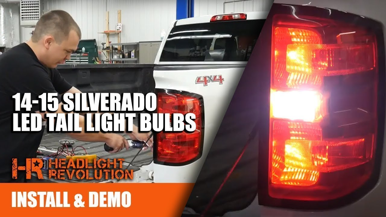 2014 2015 silverado led tail lights and reverse bulb upgrades 2014 2015 silverado led tail lights and reverse bulb upgrades headlight revolution aloadofball Image collections