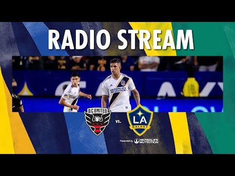 LA Galaxy At DC United | Radio Live Stream