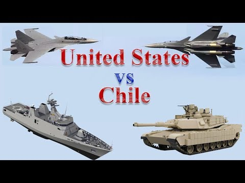 United States vs Chile Military Power 2017