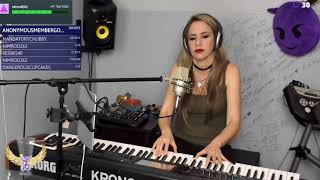 Vanessa carlton - a thousand miles piano cover by angels played live on twitch