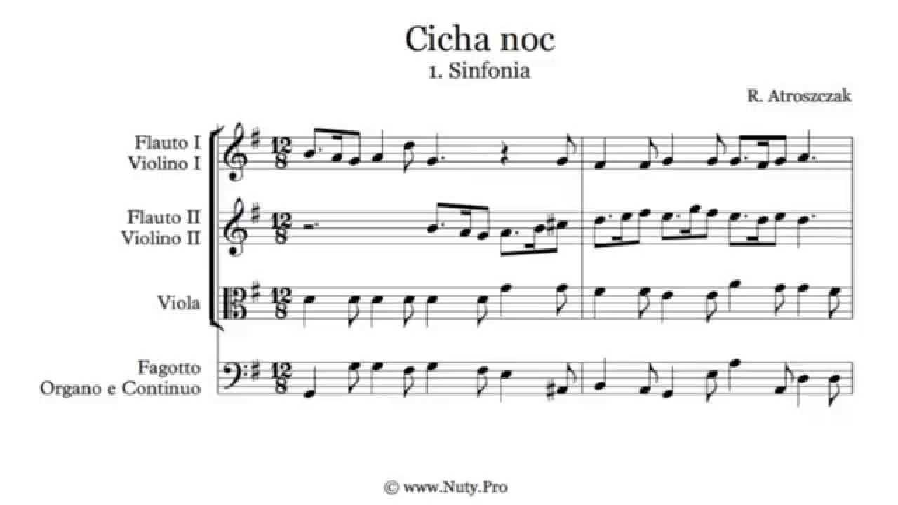 Cicha Noc Nuty Na Fortepian Pdf
