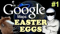 GOOGLE MAPS / EARTH Easter Eggs And Secrets #1