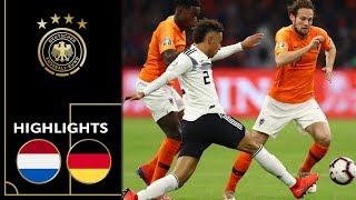 Niederlage bei Löws Rekordspiel | Niederlande - Deutschland 3:0 | Highlights | UEFA Nations League
