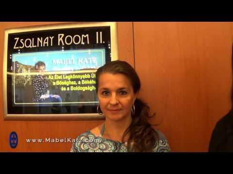 Testimony 2 · Ho'oponopono Seminar in Budapest · Mabel in Europe 2016