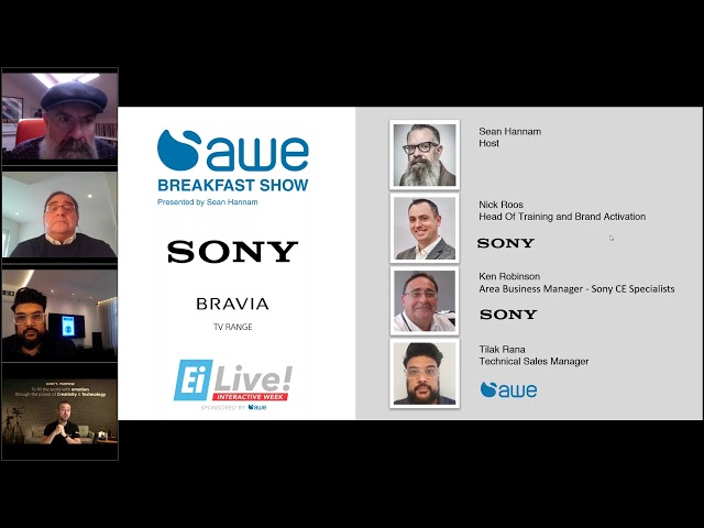 AWE Breakfast Show, featuring Sony (TVs) l