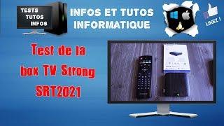 Test de la box tv strong srt2021