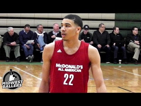 Duke Commit Jayson Tatum Shows Off His TALENT in McDonald