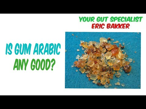 Is Gum Arabic Any Good?