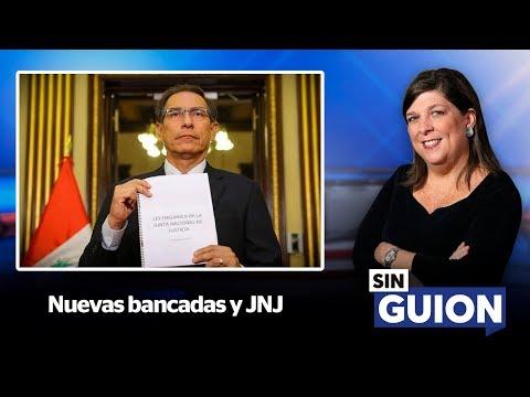 Nuevas bancadas y JNJ - SIN GUION con Rosa María Palacios