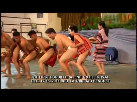 Igorot (Cordillera) Dances Medley by DKK (First Cordillera Pine Tree Festival)