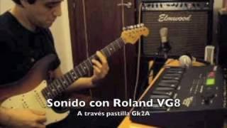 Vendo fender stratocaster USA con pastilla GK2A y Roland VG 8