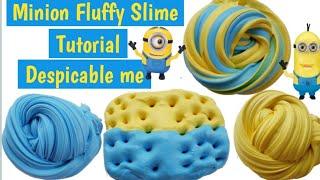 Cara membuat Minion Fluffy Slime Tutorial