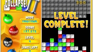 Playing Super Collapse! II - 1.4 Million Score