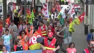 Manifestation du 26 mai 2018: Ariège, convergence des luttes