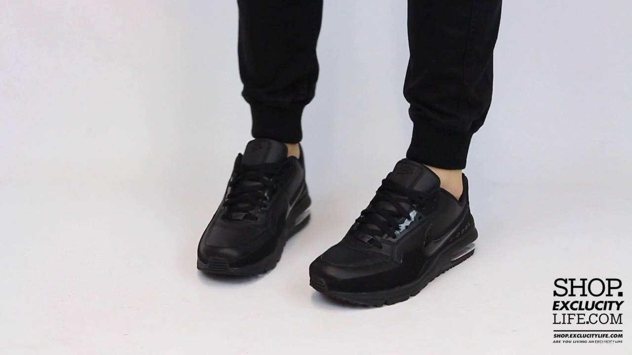 5fdc1fcb2e Air Max LTD Triple Black On feet Video at Exclucity - YouTube