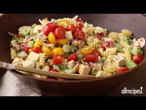 Chicken Club Pasta Salad   Appetizer Recipes   Allrecipes.com