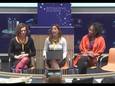 Amara Moira & Djamila Ribeiro no The Brazil Forum UK 2017