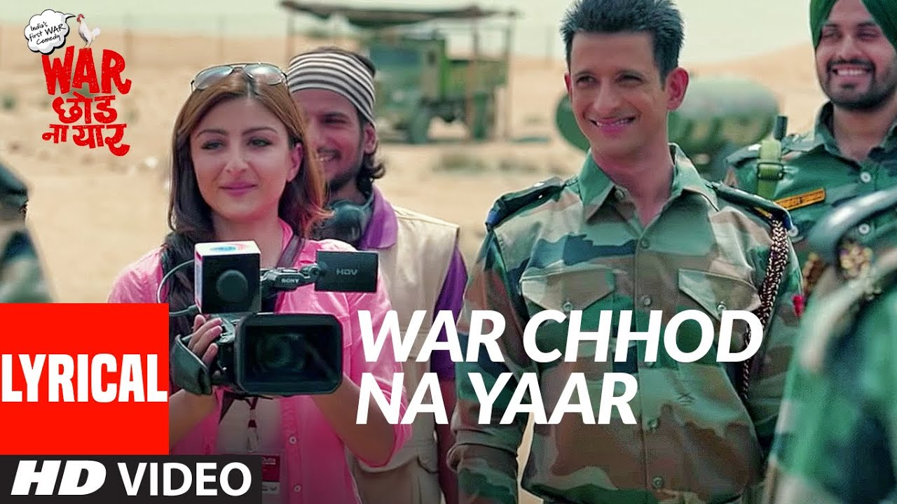 War Chhod Na Yaar Title Song (Lyrical) | Sharman Joshi, Soha Ali Khan, Javed Jaaferi