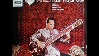 Sitar | Vilayat Khan Sitar, Music of India, Side 2-A, Raga Shankara