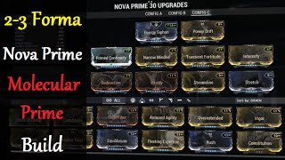 Warframe Builds Nova Prime Molecular Prime Builds 2 3 Forma Youtube She can kill anything she sees and all her skills are useful on their own. warframe builds nova prime molecular prime builds 2 3 forma
