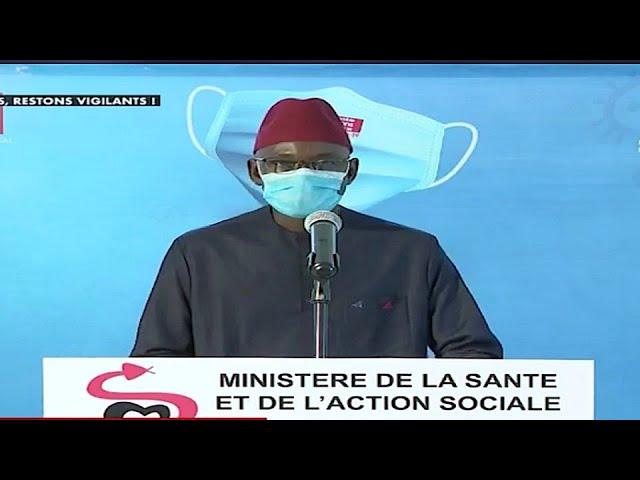 Situation COVID 19 Sénégal 11 septembre 2020, 43 positifs, 30 cas graves en réanimation, 0 décès,