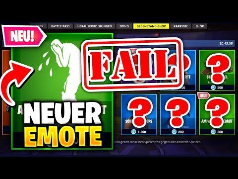 "Neuer ""WEINEN"" Emote + Mein MEGA FAIL 😭 | Heute im Shop | Fortnite DAILY SHOP (18.6) 🛒 Fortnite Shop"